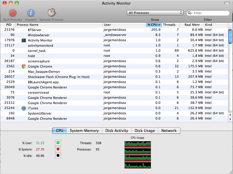 Xcode Macbook Pro battery life | Jorge Mendoza's Blog